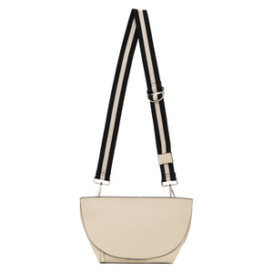 Evie Carry-All Cross Body Handbag | Cream