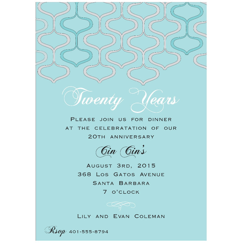 Lily + Evan - Invitations - Queen & Grace