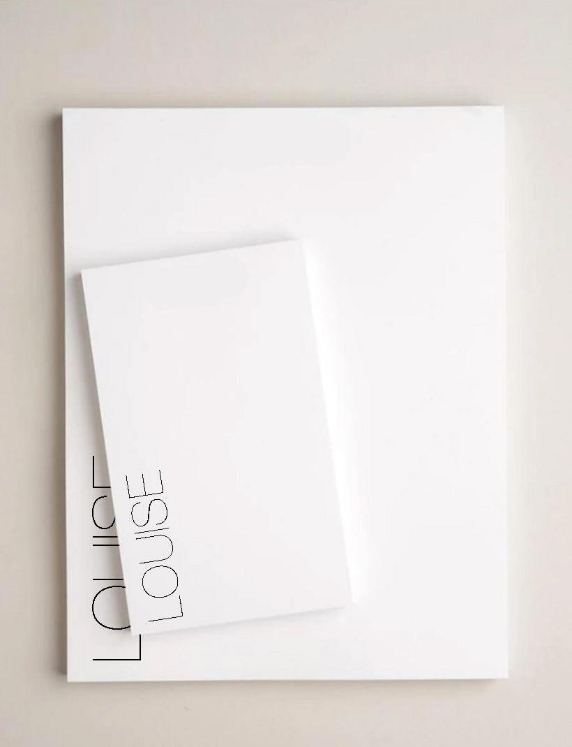 NOTEPAD | Aovel Large - Notepads - Queen & Grace