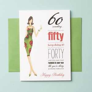 BD-14-10 | Sixty Something Woman - Greeting Cards - Queen & Grace