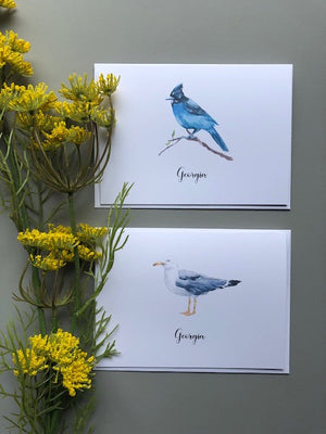 Watercolour Birds | Package #2 - [product_type] - Queen & Grace