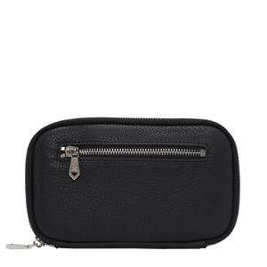 Madison Black Leather Wallet