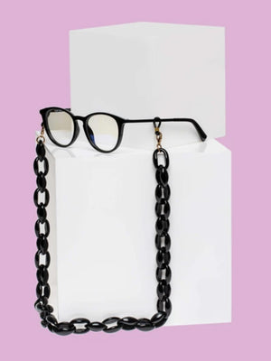 Glasses Chain - Black