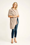 Clay Lightweight Wrap - Cashmere - Queen & Grace