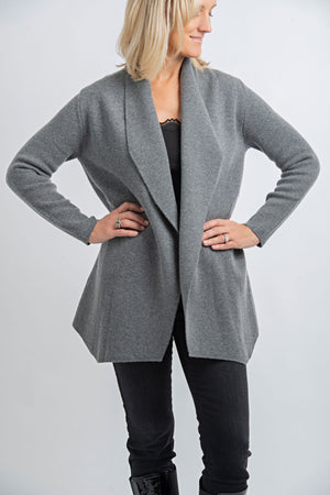 Cashmere Cardigan  | Grey