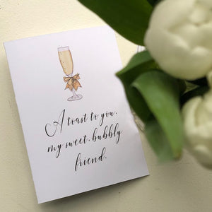 FR-19-10 | Bubbly - Greeting Cards - Queen & Grace