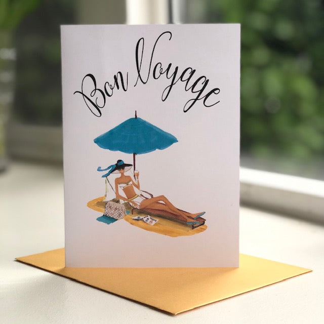 FW-19-01 | Bon Voyage - Greeting Cards - Queen & Grace