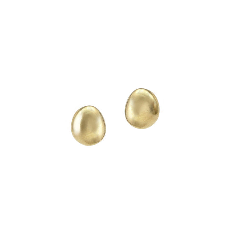 Galina Small Gold Stud Earrings