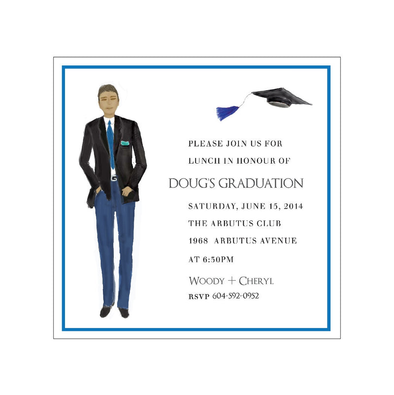 Doug - Invitations - Queen & Grace
