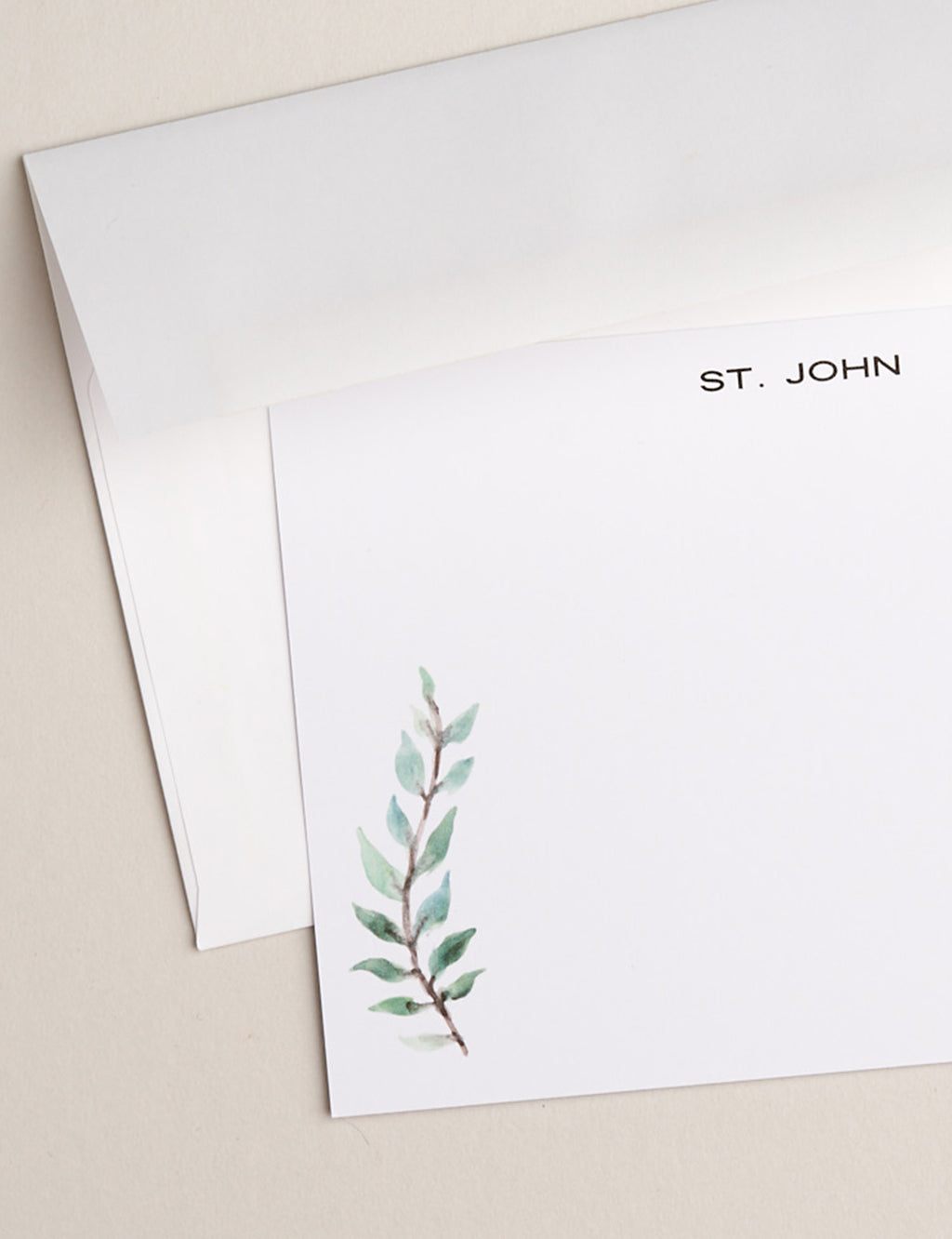 GREEN FERN | Flat Panel Cards