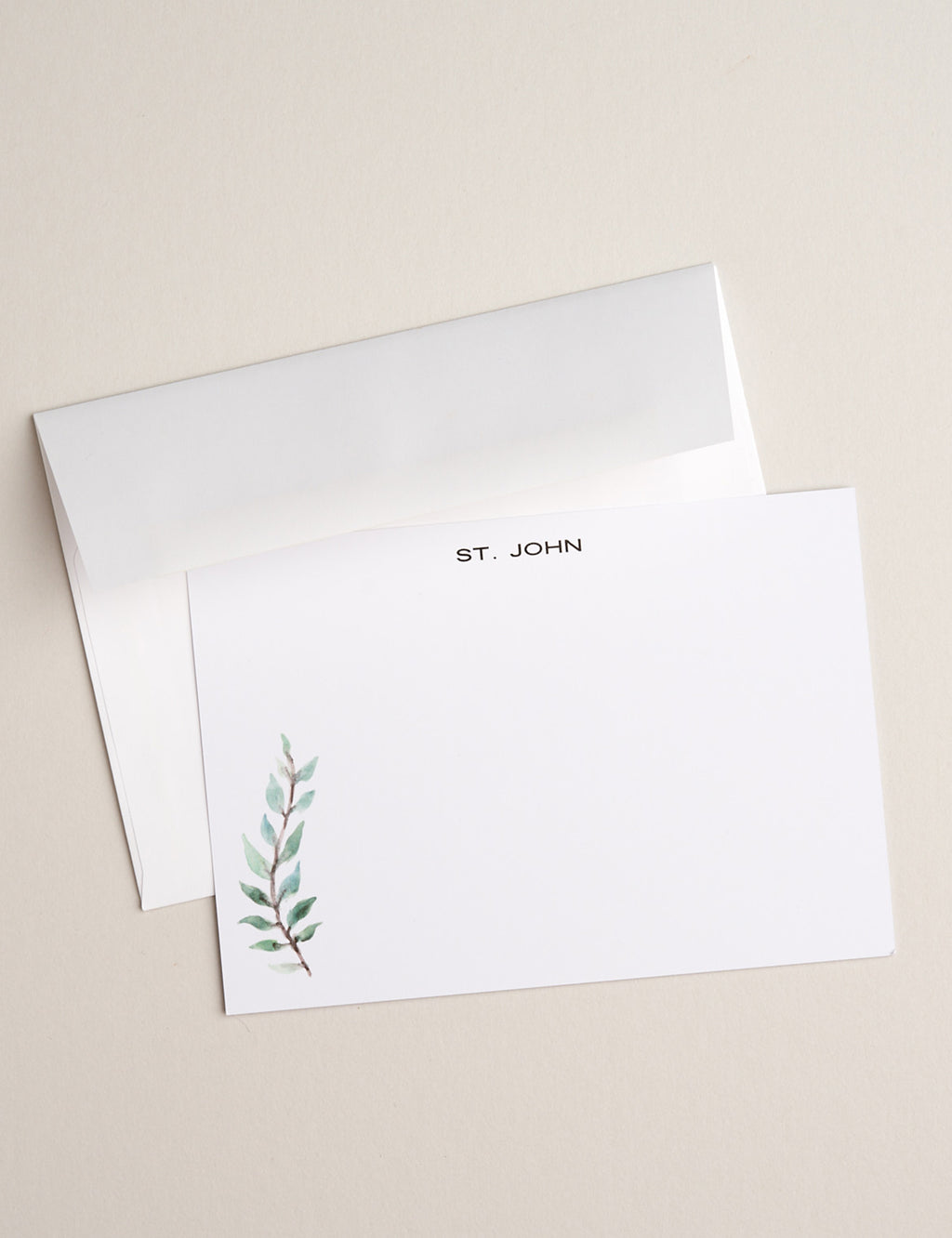 GREEN FERN | Flat Panel Cards - [product_type] - Queen & Grace