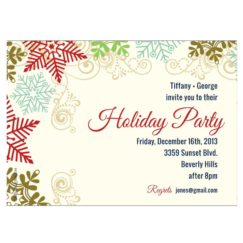Tiffany + George - Invitations - Queen & Grace