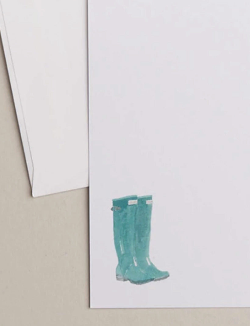 HUNTER BOOTS | Flat Panel Cards
