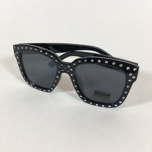 Sunglasses 7 - Black Studded Frames - Accessories - Queen & Grace