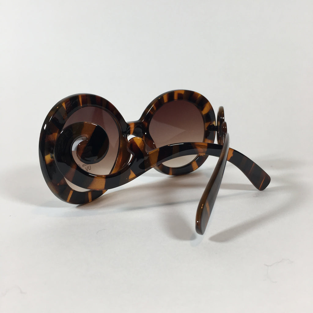 Sunglasses 8 - Round Tortoise Frames - Accessories - Queen & Grace