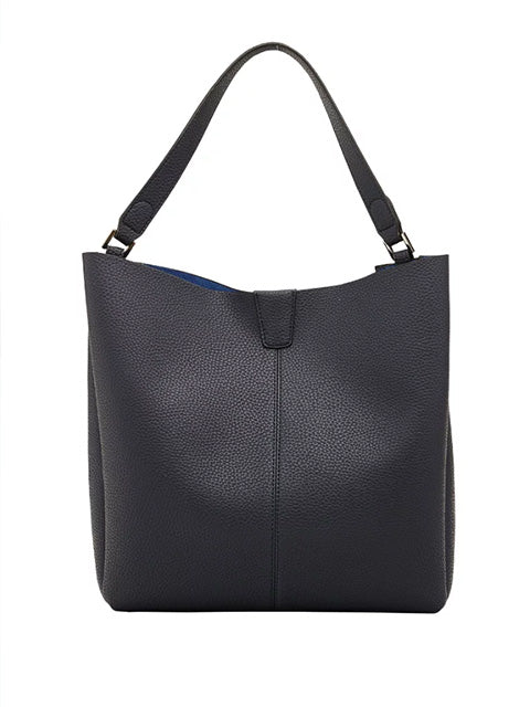 Kendall Handbag | Navy - Handbags - Queen & Grace