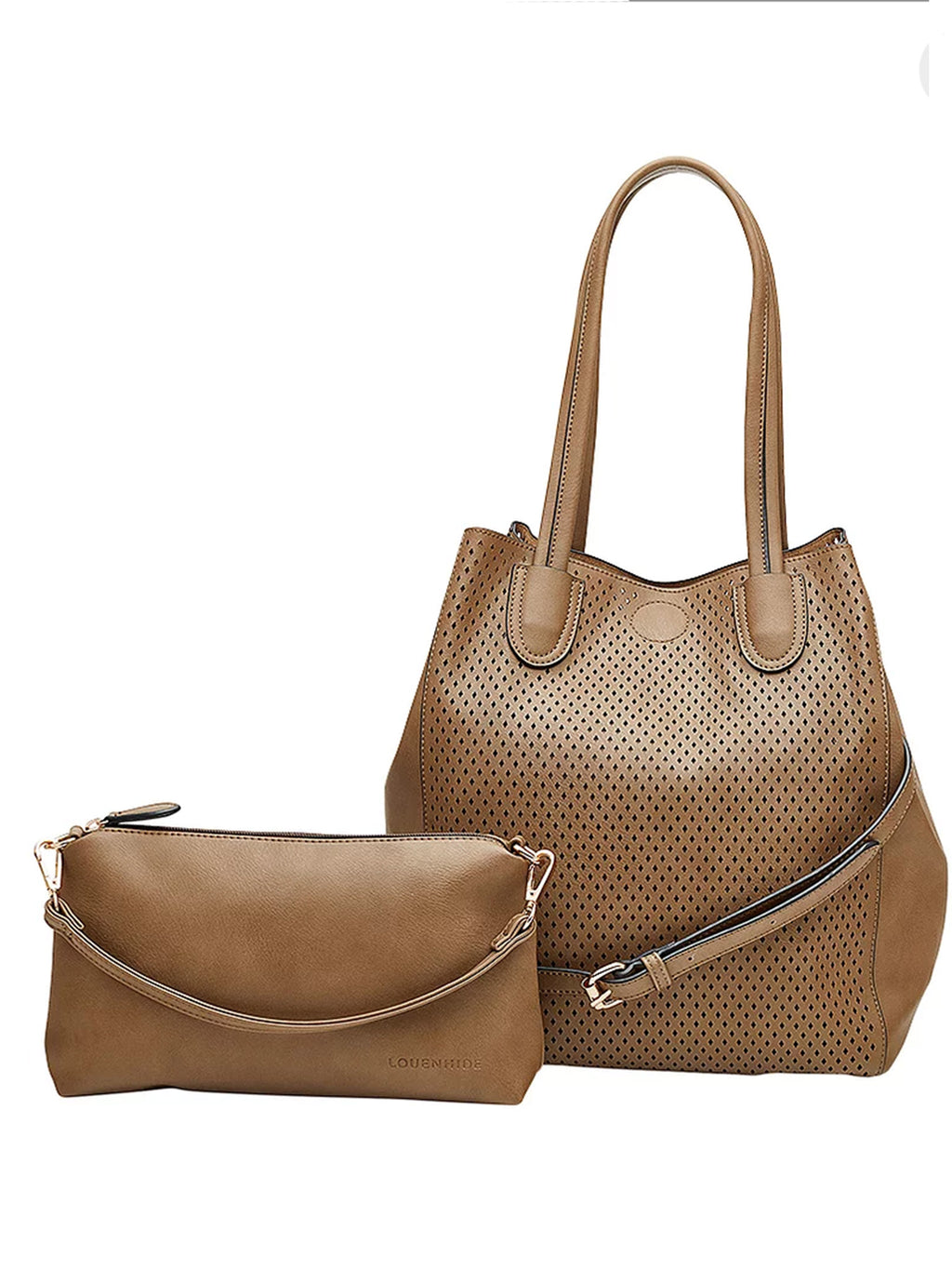 Olsen | Mocha - Handbags - Queen & Grace