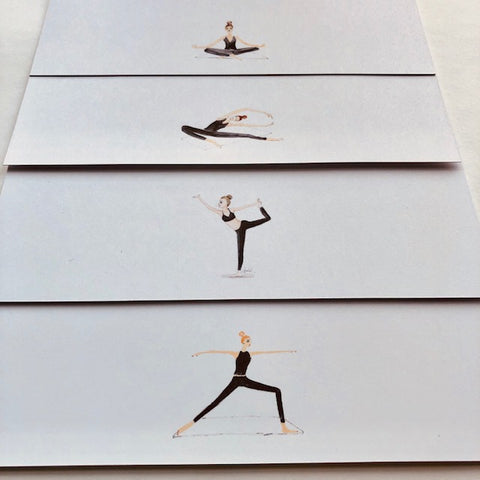 Yoga Set - Panel Cards