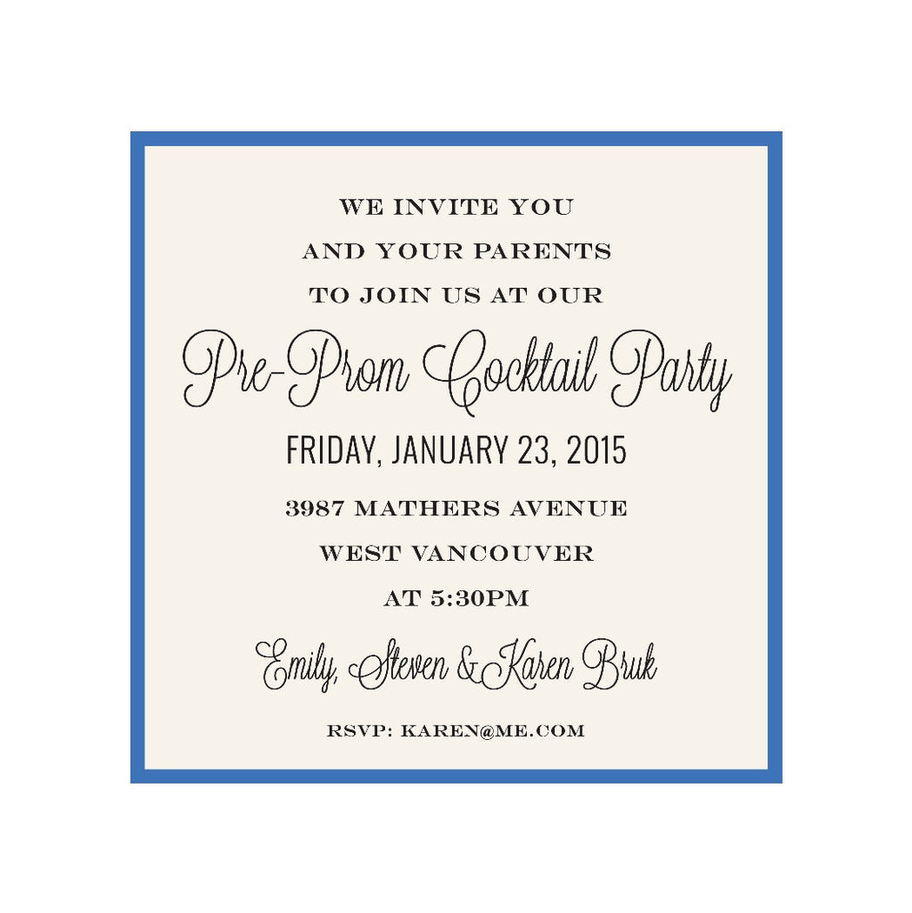 Pre Prom Party Invitations Wording Unique Birthday Party Ideas And