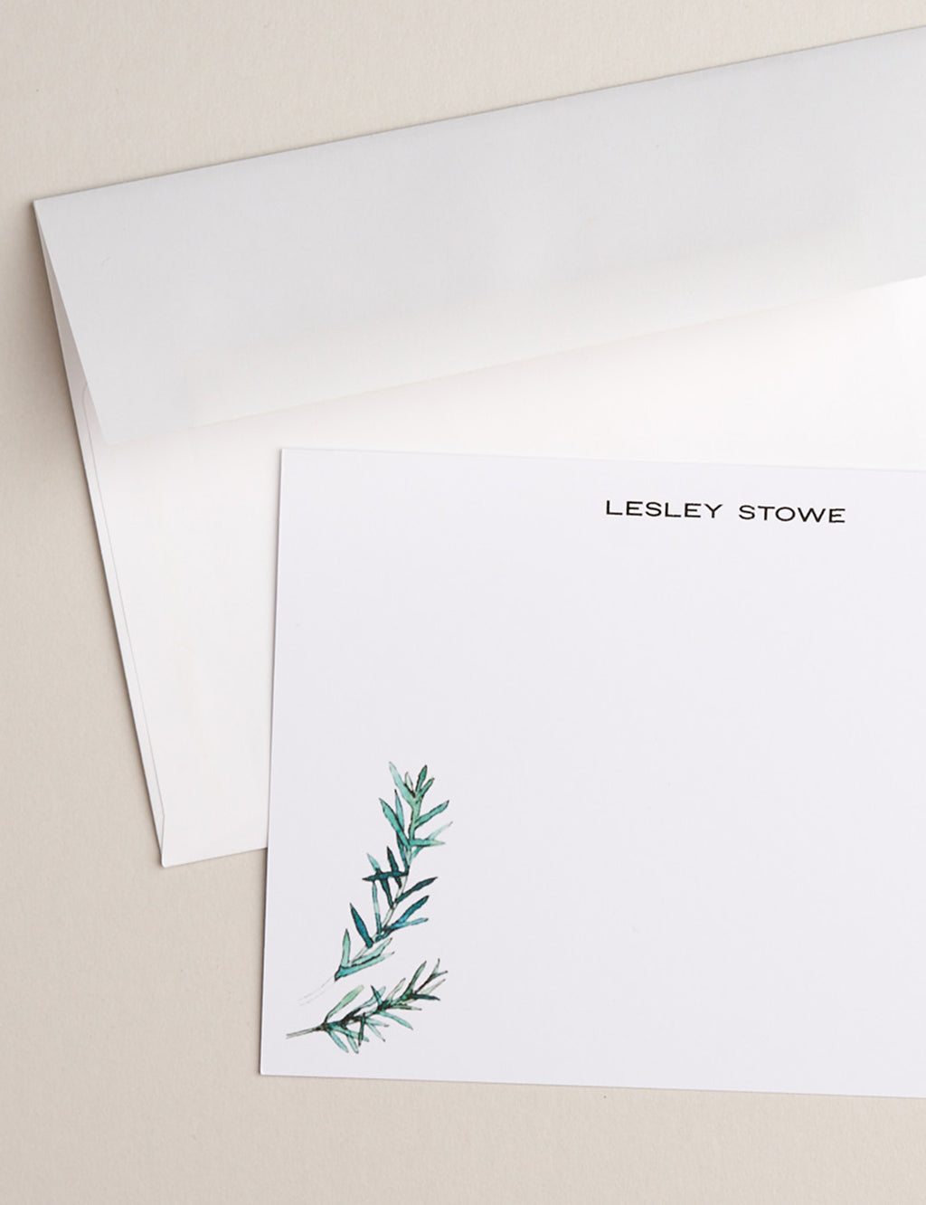 ROSEMARY | Flat Panel Cards