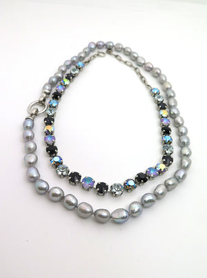 Oyster Grey Pearls