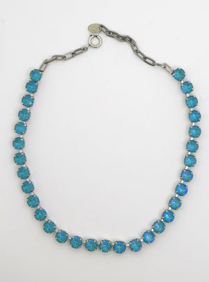 Swarovski Necklace | Pale Blue