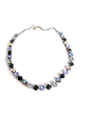 Swarovski Necklace | Navy & Blue