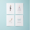 Balloons  | F-19-02 - Social Stationery - Queen & Grace