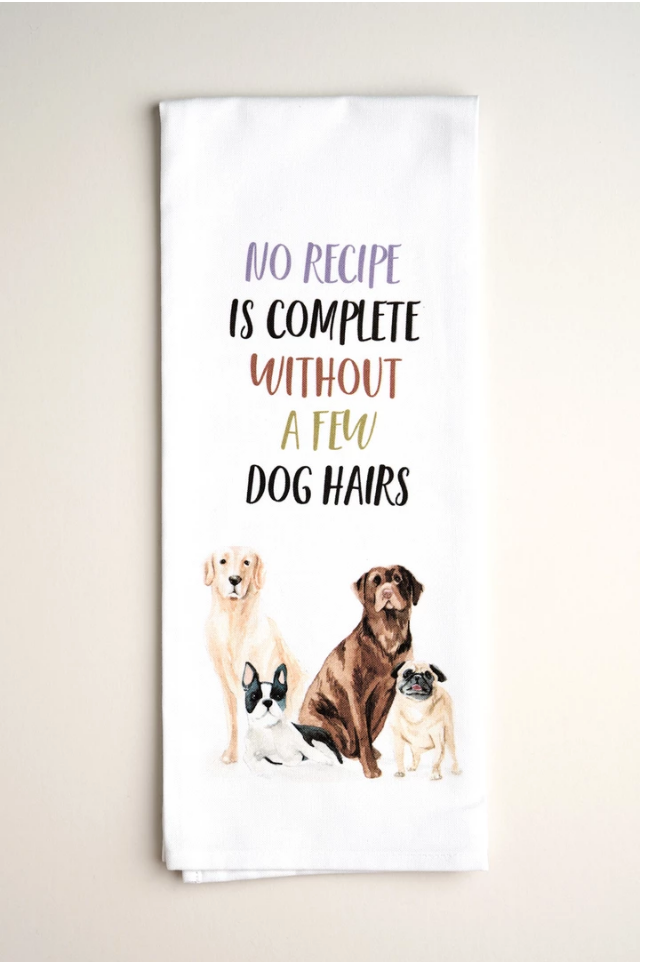 TEA TOWELS | Dog Hair - Accessories - Queen & Grace