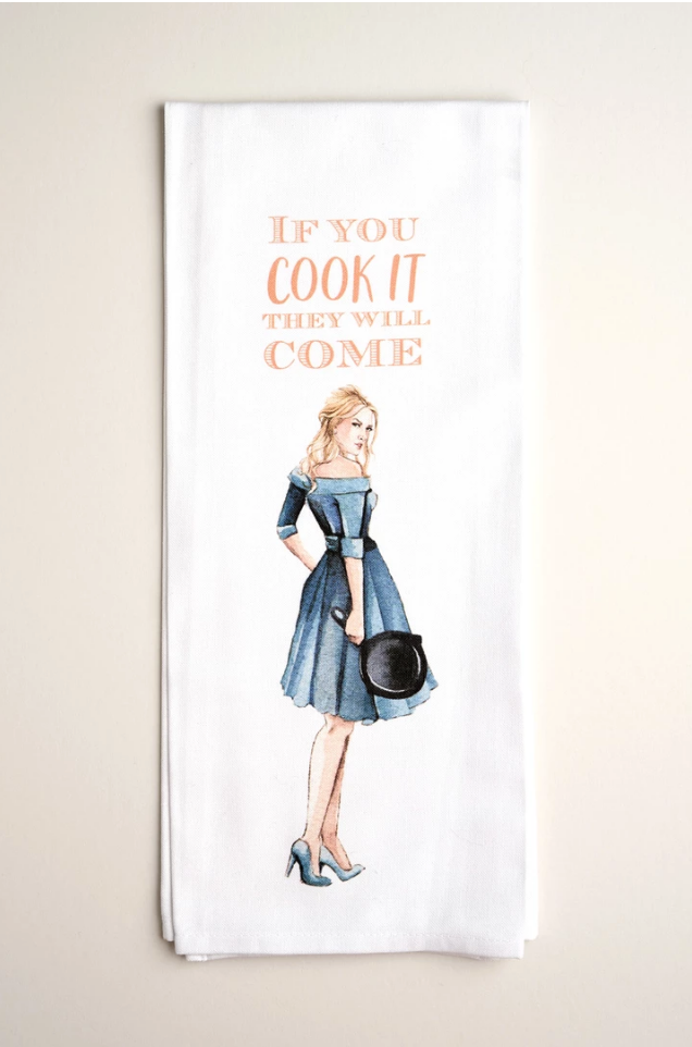 TEA TOWELS | Cook It - Accessories - Queen & Grace