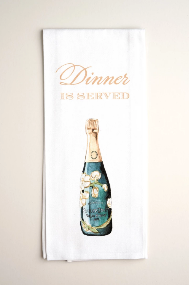 TEA TOWELS | Champagne for Breakfast - Accessories - Queen & Grace