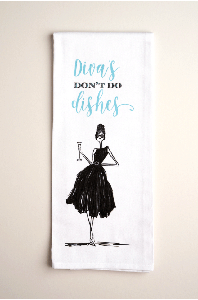 TEA TOWELS | Divas - Accessories - Queen & Grace