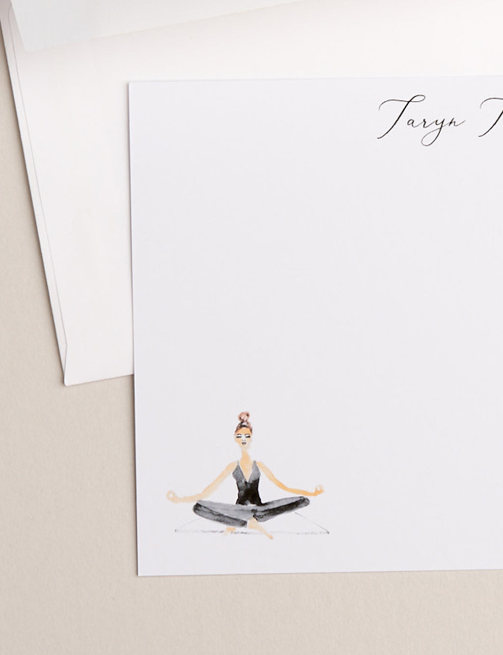 SEATED YOGA | Flat Panel Cards - [product_type] - Queen & Grace