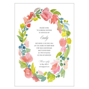 Wedding Shower - Emily - Invitations - Queen & Grace