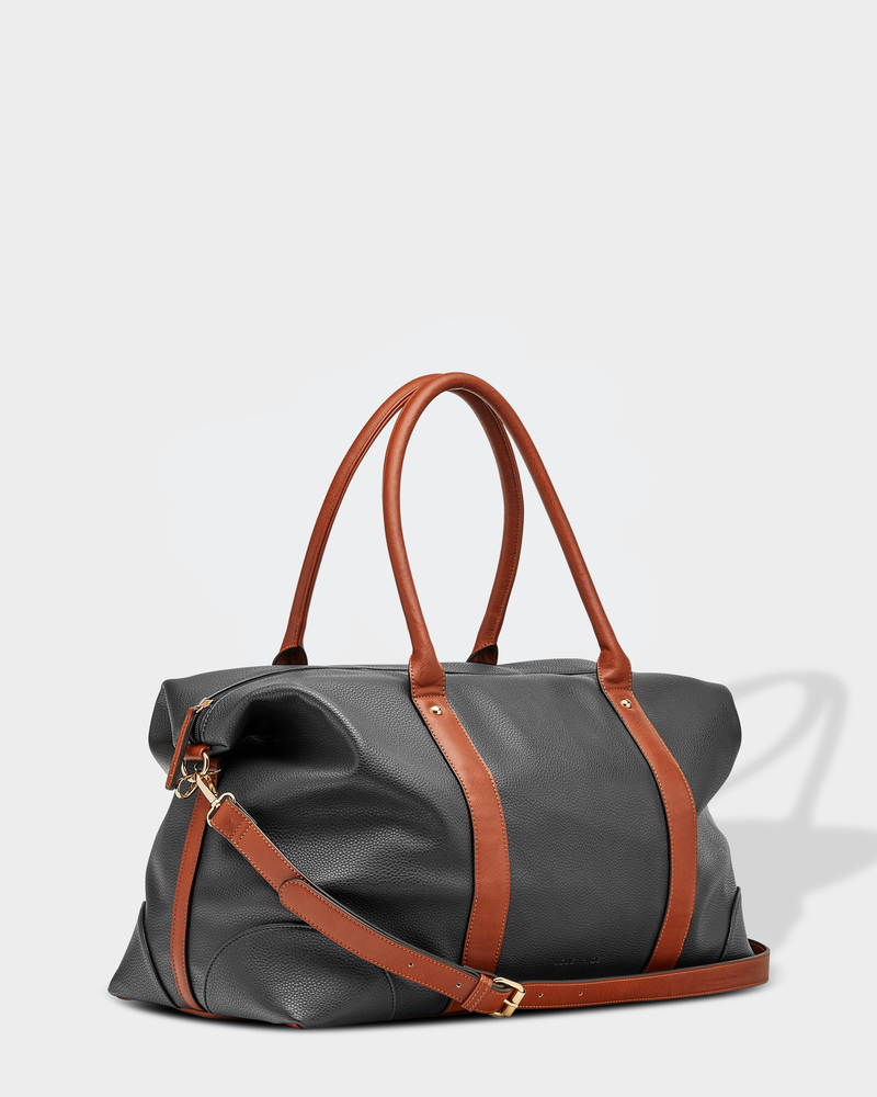 Alexis Weekender | Black on Brown