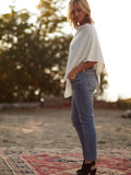 All Cream and Earth Tone Shades | Poncho