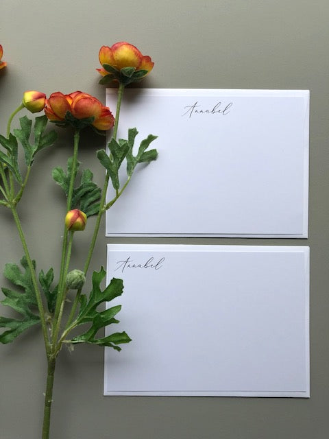#2 Classic Fonts | Panel or Folded cards - [product_type] - Queen & Grace