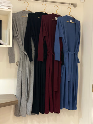 100% Cashmere Robe/Cardigan | Four Colours