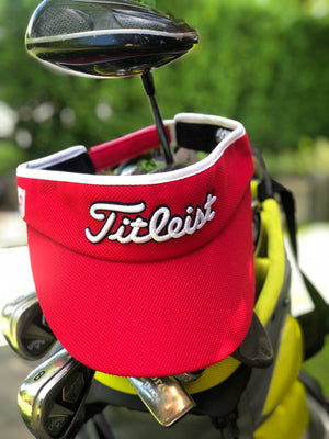 Golf Visor | Red