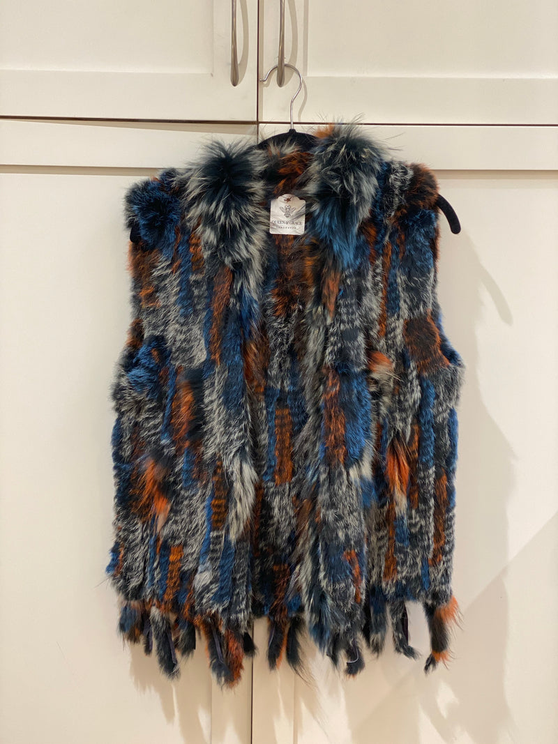 Fur Vest | Multi Colour