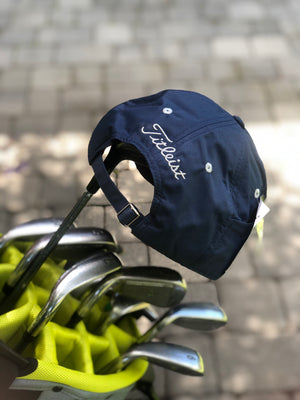 Golf Cap | Navy & Grey
