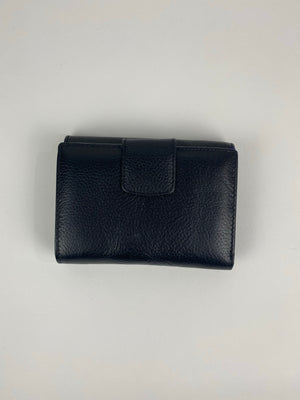 Black Leather Fun Interior Wallet