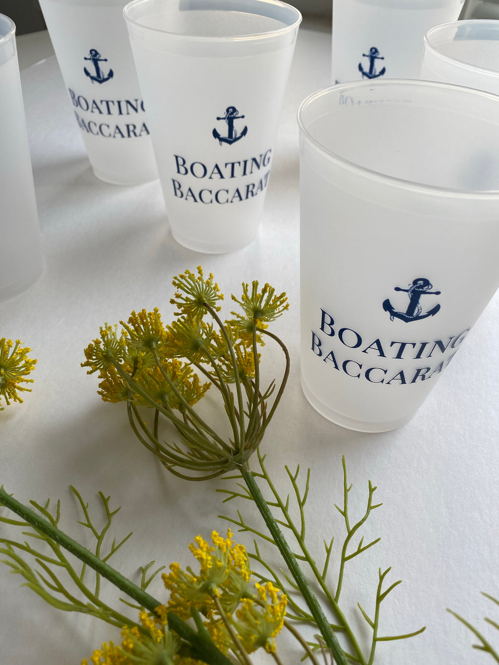 Boating Baccarat Drinking Glasses | set of 6