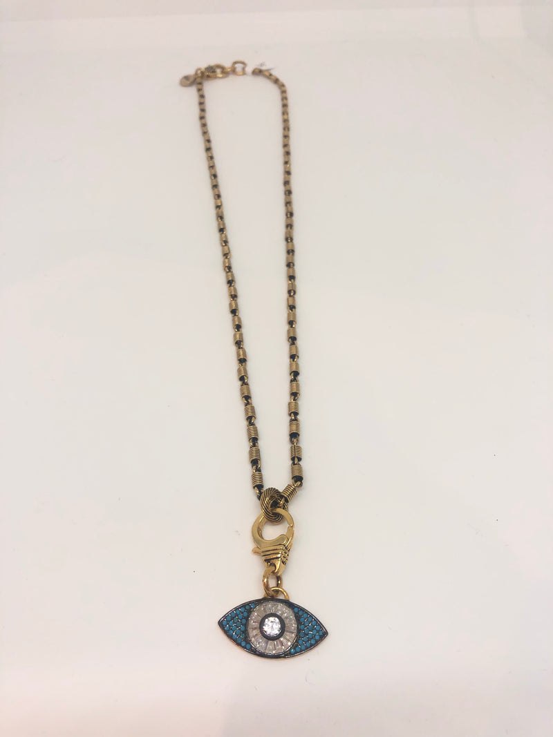Necklace Evil Eye Blue