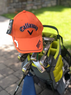 Golf Cap | Orange