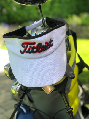 Golf Visor | White