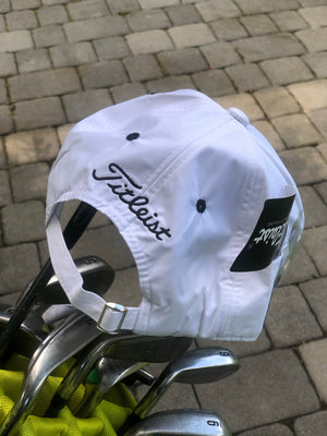 Golf Cap | White & Black