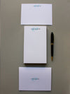 #3 Monograms  | Notepad + Panel Cards - [product_type] - Queen & Grace