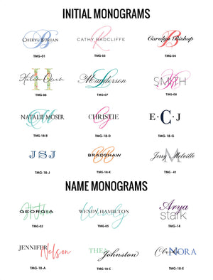 Package #1 | Monogrammed - [product_type] - Queen & Grace