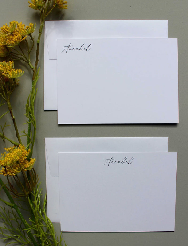 CLASSIC FONTS | Flat Panel Cards - [product_type] - Queen & Grace